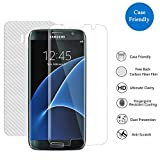 3H Replacement for SAMSUNG Galaxy S7 Edge Screen Protector, PremiumTempered Glass Screen Protector Film[3D Coverage][Case-Friendly][Not Easy to Drop Off]Thickness HD Clear with 9H Hardness