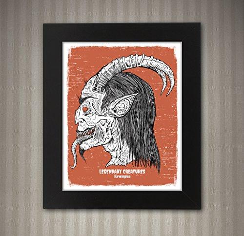 Krampus - Legendary Creatures Art - 8x10 -