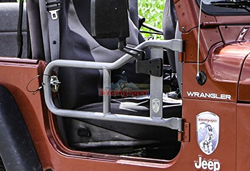 Steinjäger 1997-2006 Wrangler TJ Doors, Tubular Black Powder Coat