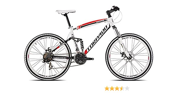 Torpado - Bicicleta MTB Full Suv99, llantas de 26