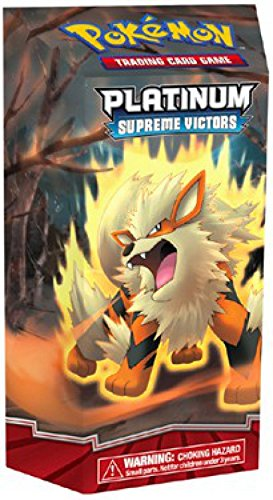 (Pokemon Platinum Trading Card Game Supreme Victors Theme Deck Arcanine)