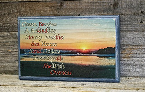 Ocean Wood Sign, Beach Photo on - City Lincoln Pictures Oregon Of