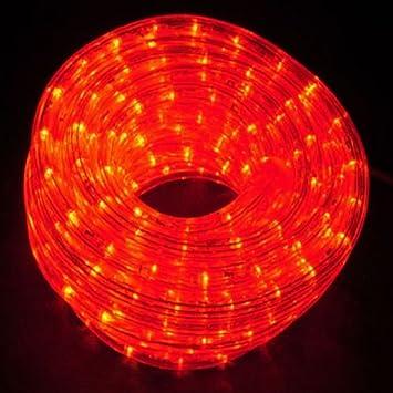 Ex pro 20m static super bright red rope light amazon ex pro 20m static super bright red rope light aloadofball Images