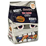 HERSHEY'S Halloween Snack Size Assortment (51.42-Ounce Bag, 125 Pieces)
