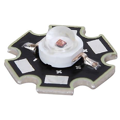 Diodo LED con disipador de calor (3 W)