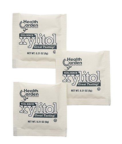 Health Garden Birch Xylitol Sugar Free Sweetener (50 Packets) by HEALTH GARDEN (Image #3)