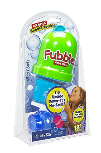 Little Kids Fubbles No Spill Bubble Tumbler   Colors May Vary