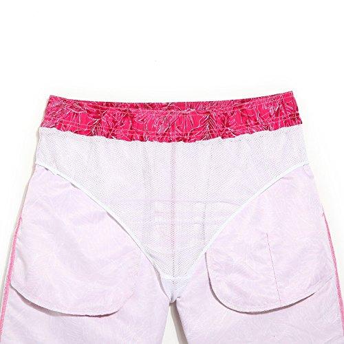 81f904efd892 Xiaoxiaozhang Pantaloni da Spiaggia da Uomo, Fiori da Vacanza al Mare, Pantaloni  da Nuoto, Costume da Bagno, Costume da Bagno, Costume da Bagno: Amazon.it:  ...