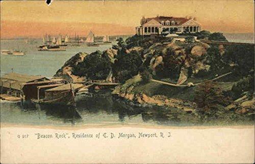 nce of E. D. Morgan Newport, Rhode Island Original Vintage Postcard ()