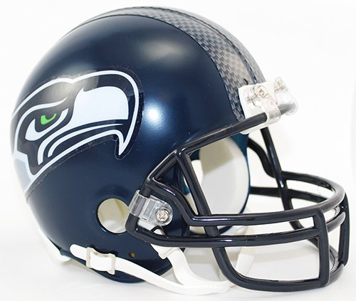 Seattle Seahawks Riddell Mini Football Helmet - New in Riddell Box