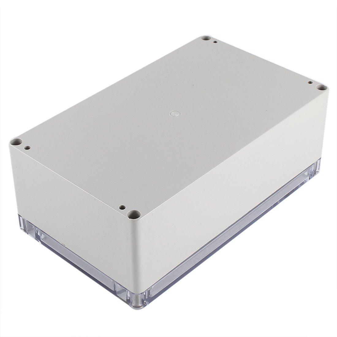 Caja de conexiones - SODIAL(R) Caja de proyecto electronico de armario impermeable de plastico 200x120x75mm