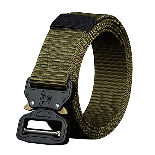 Get-in 110 130 150 170cm long big size new nylon material mens belt military outdoor male jeans tactical belts for men luxury,NY02green,110cm