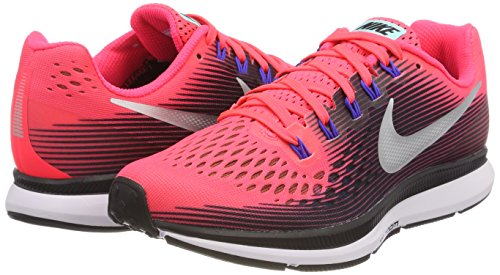 Air Running Wmns 34 Nike Plata Negro 604 Zoom Pegasus Metalizada Para Zapatillas Mujer Solar De Multicolor rojo 0qBBH5w