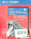 img - for Glencoe Professional Development Series Algebra and Geometry DVD and Workbook Facilitator's Guide. (DVD) book / textbook / text book
