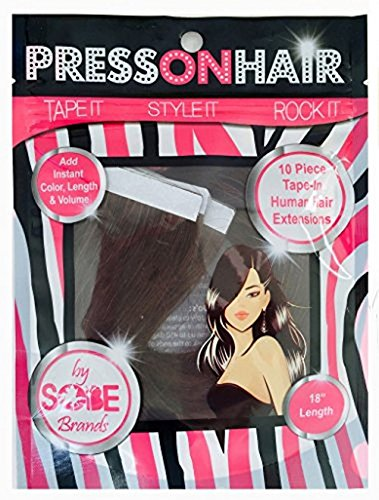 press-on-hair-straight-tape-extensions-dark-brown-18-inch