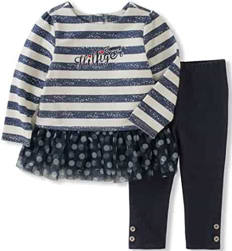 Tommy Hilfiger Toddler Girls' Tunic Legging Set
