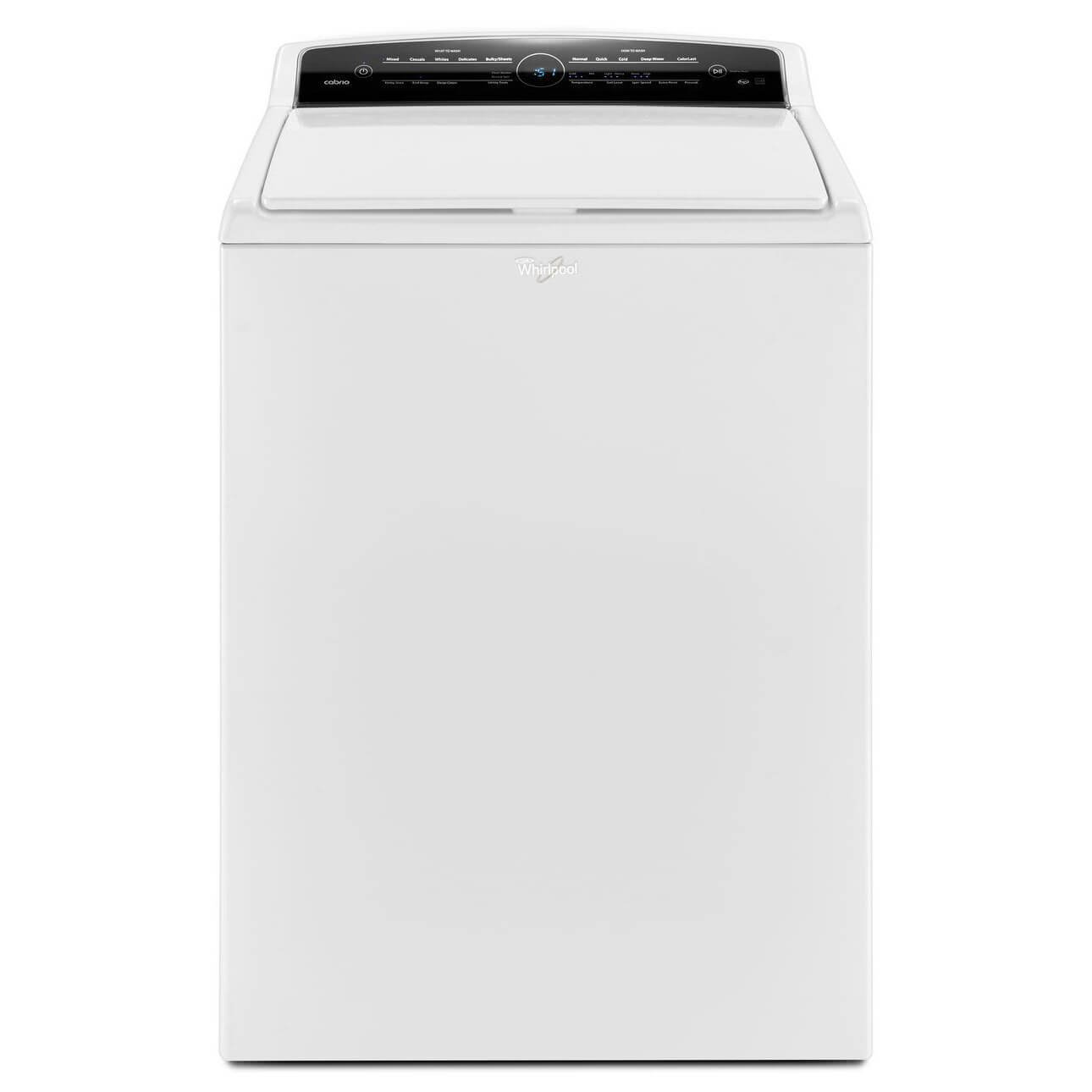 Whirlpool Wtw7000dw 48 Cu Ft Cabrio He Top Load Parts Diagram List For Model Geq9800pw1 Whirlpoolparts Dryer Washer W Exclusive Colorlast Option Appliances