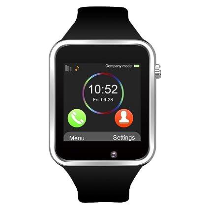 Amazon.com: Teléfono SmartWatch GSM visualización táctil ...