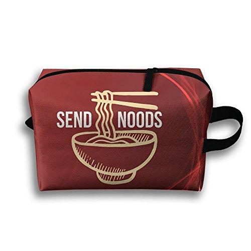 Price comparison product image Send Noods Ramen Noodles Travel Bag Multifunction Portable Toiletry Bag Organizer Storage