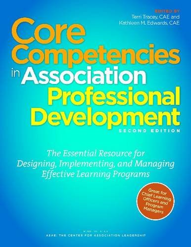 Read Online Core Competencies in Association Professional Development ebook