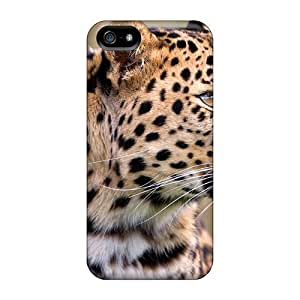 FvV7818XrYm Snap On Case Cover Skin For Iphone 5/5s(leopard)
