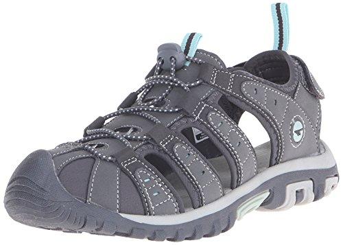 Hi-Tec Women's Shore Water Shoe, Grey/Charcoal/Sprout, 8 M US