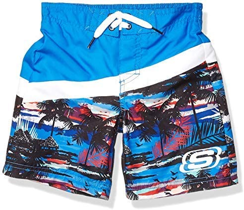 Little Boys Trunks Swim Shorts Royal Blue Island 5 [並行輸入品]