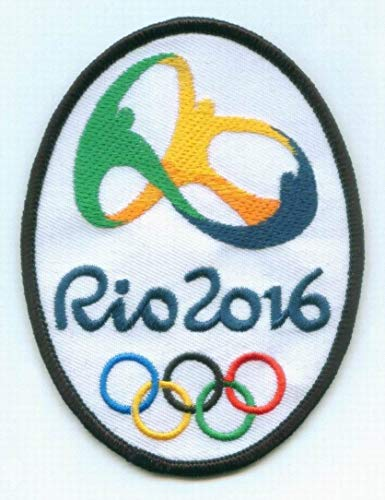 2016 Olympic Games Collector Patch Jersey Style Summer Olympics Rio de Janeiro