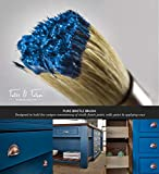 Chalk & Wax Paint Brush for Furniture - Painting or