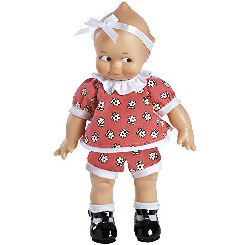"""Charisma Brands Kewpie Scootles Doll 8"""" Vinyl Classic Collectible Toy Colorful Daisy Outfit"""