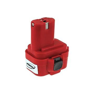 Batería para destornillador Makita 6990DWDE NiMH 3000 mAh, 9 ...