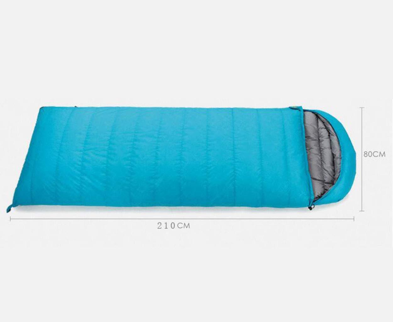 JBHURF Outdoor Camping Schlafsack Outdoor Nähte Doppel Doppel Doppel Schlafsack Tragbare Kompression Schlafsack (Kapazität   400g, Farbe   Camouflage Blau) B07KJG9J37 Schlafscke Einzigartig 47e115