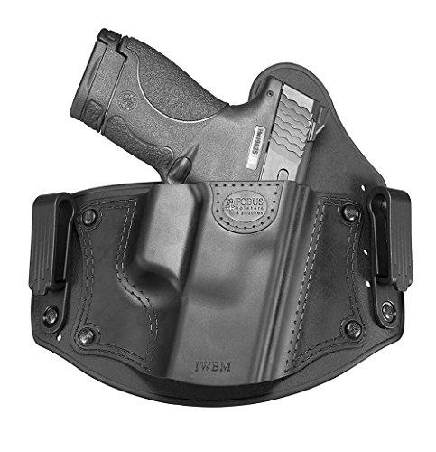 Fobus neu IWBM CC verdeckte Trage IWB Kampf Stil Im Inneren der Gürtel universal Pistolenhalfter Holster für Glock 17,19,26,27,28,33 / Beretta PX4 Compact / Sig Sauer P320, P228 / Walther PPQ, P99 / S