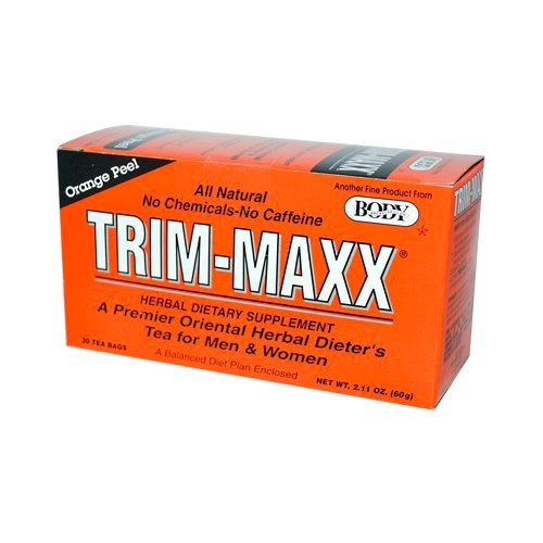 Body Breakthrough Trim-maxx Herbal Dieters Tea Orange - 30 Tea Bags, 30 Count by Body Breakthrough