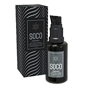Organic Anti Aging Oil Serum - Exquisite Essential Oil Blend for Face with Sea Buckthorn, Argan, Neroli, Rosehip and CoQ10 - SOCO Botanicals by Soco Botanicals In Austin Tx