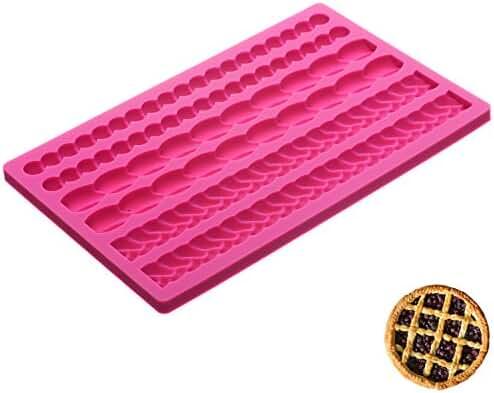 Pie crust silicone mat create your own lattice pie crust