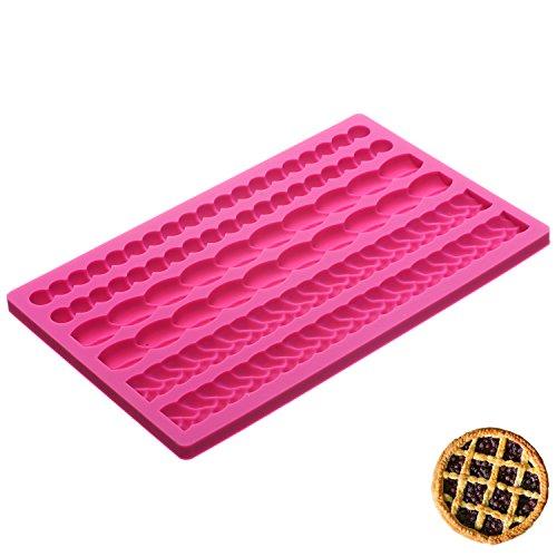Pie Design (Pie crust silicone mat create your own lattice pie)