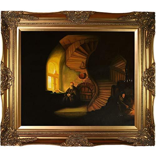 [해외]overstockArt The Philosopher in Meditation Framed Oil Reproduction of an Original Painting by Rembrandt Victorian Frame Gold Finish / overstockArt The Philosopher in Meditation Framed Oil Reproduction of an Original Painting by Rem...