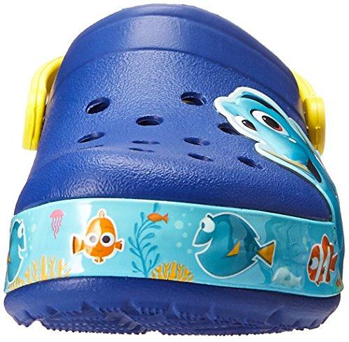 Crocs Kids' Finding Dory Light-Up Clog, Cerulean Blue/Lemon, 11 M US Little Kid by Crocs (Image #4)