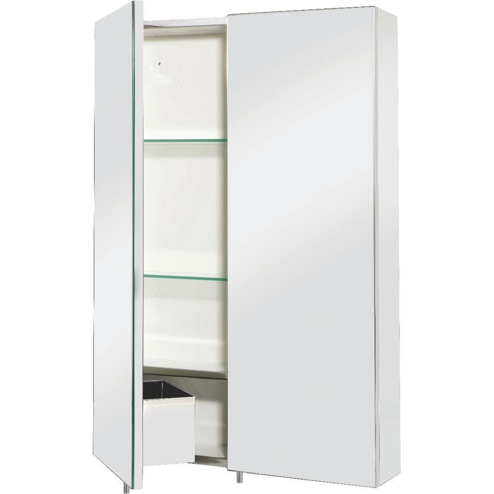 Croydex Colorado Double Door Stainless Steel Cabinet: Amazon.co.uk ...