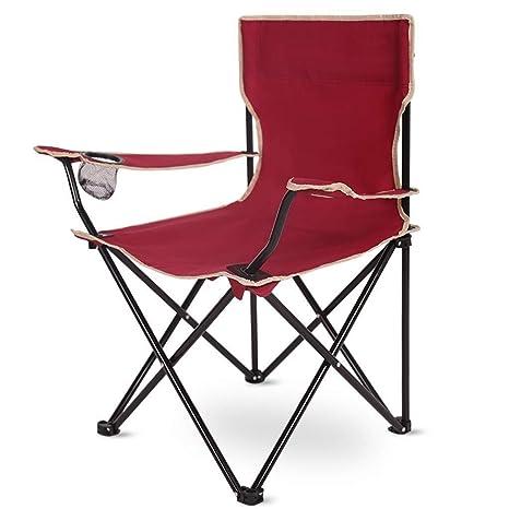 Silla Plegable Silla para Acampar al Aire Libre portátil ...