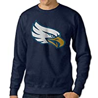 JJVAT Men's University Of North Texas Crew-Neck Sweat Shirt