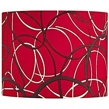 Amazon.com: Rojo y Gris lámpara de carga con Spider Asamblea ...