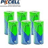 CR123A CR17345 16340 3V 1500mAh Lithium Battery 6 Pack