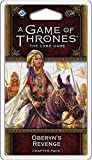 Fantasy Flight Games a Game of Thrones Lcg 2nd Edition: Oberyn's Revenge Chapter Pack Living Card