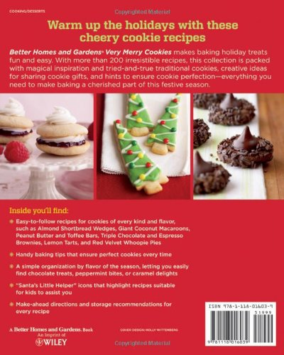 Better Homes And Gardens Very Merry Cookies Better Homes And - Better homes and gardens brownie recipe