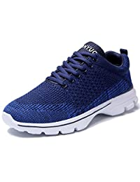eyeones Men's Women's Running Shoes Walking Breathable mesh Sneakers Shoes