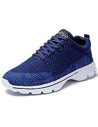 eyeones Men's Women's Running Shoes Walking Breathable mesh Sneakers Shoes