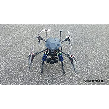 Thermal Surveying/Mapping X8 336 Quadcopter Drone With RTK Multi GNSS GPS