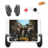 Takyu Mobile Game Controller for Ipad, PUBG Mobile Controller with Game Joystick, L1R1 Sensitive Aim and Shoot Gamepad Trigger for 4.5-12.9 inch Tablet & Android iOS Phone